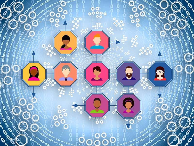 Comunicación digital y networking en Internet Online